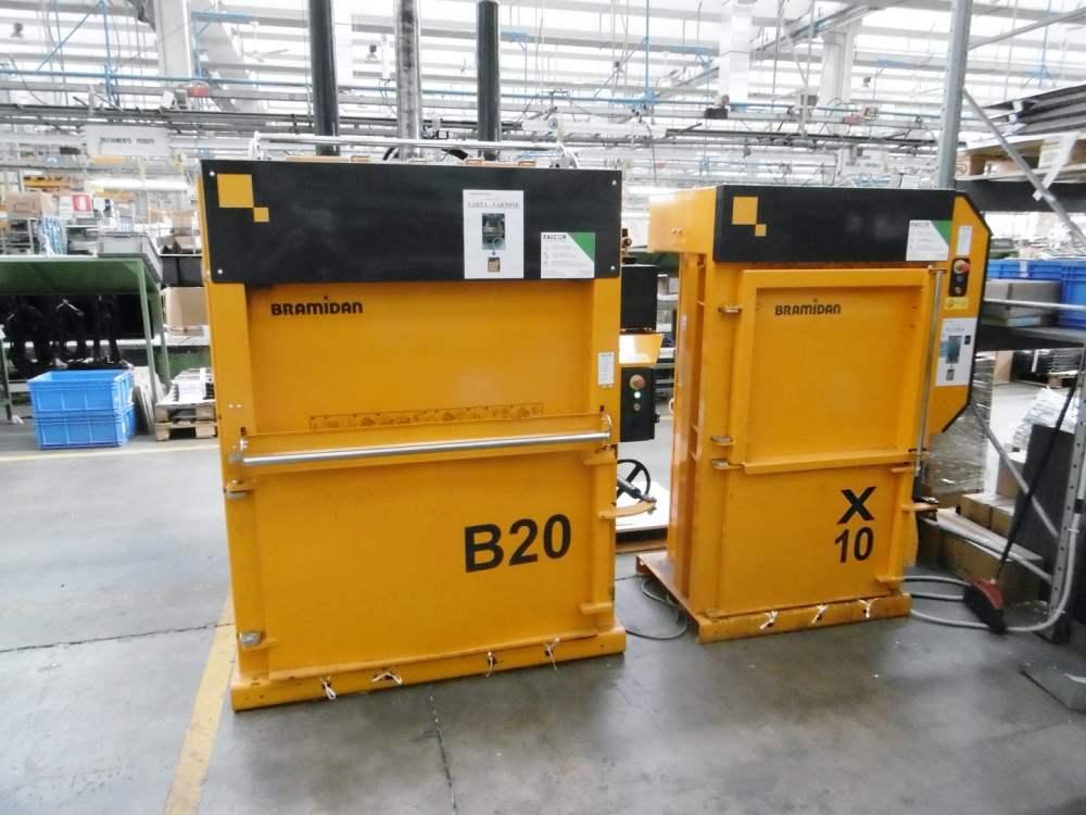 Le presse b20 e X10 presso lo stabilimento della Fisher & Paykel