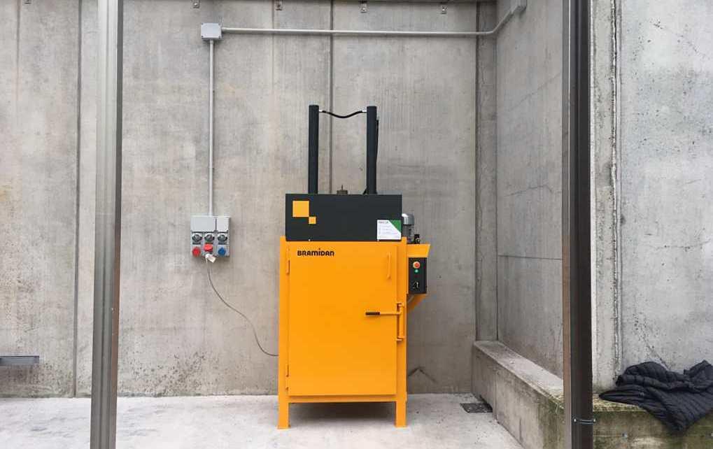 Pressa DP16 installata alla Ipcochemical