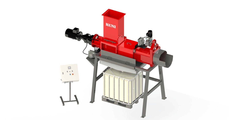 Pressa strizzatrice dewatering Runi SK370